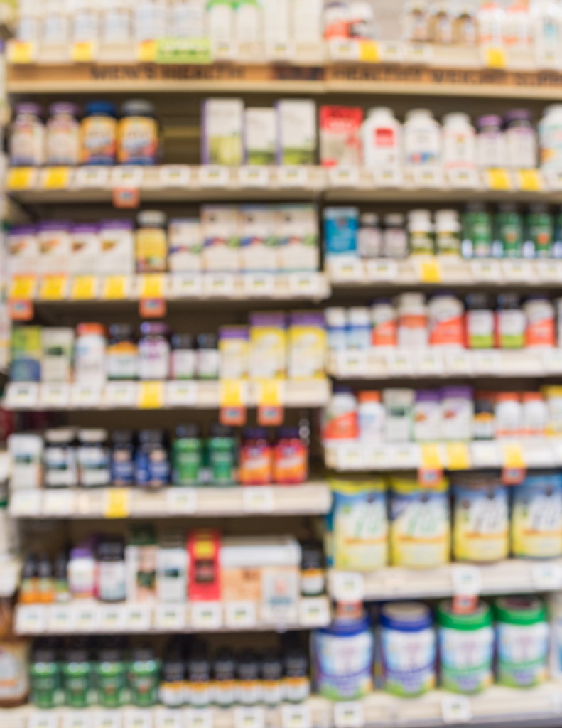 supplement aisle at grocery store best vitamins for diabetes