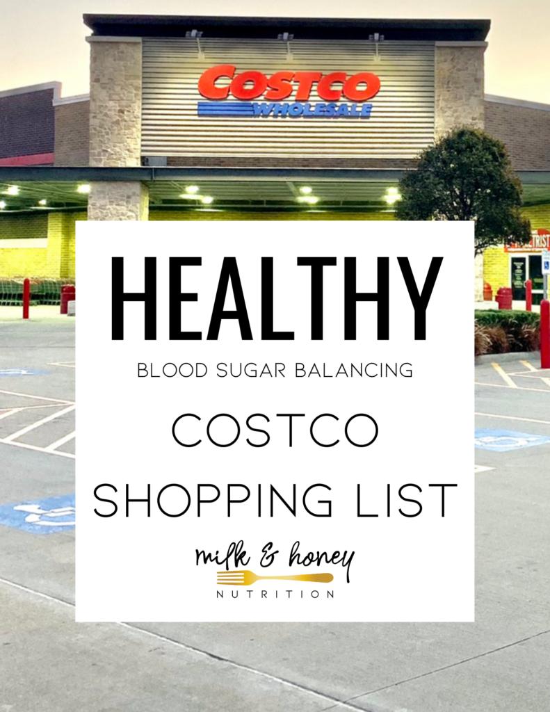 costco shopping list dietitian